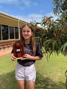 Sequoia Donovan prize winner trophy
